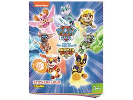 Panini Paw Patrol Mighty Pups Sticker Album