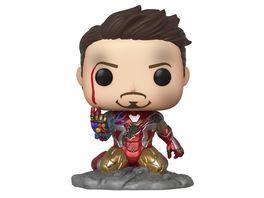 Funko POP Marvel Avengers Endgame Iron Man I Am Iron Man Metallic Glows in the Dark