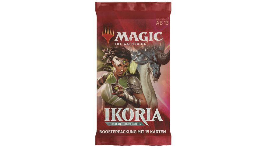 Magic the Gathering - Ikoria Reich der Behemoths Booster