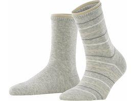 ESPRIT Damen Socken Easy Stripe 2er Pack