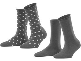 ESPRIT Damen Socken Dot 2er Pack