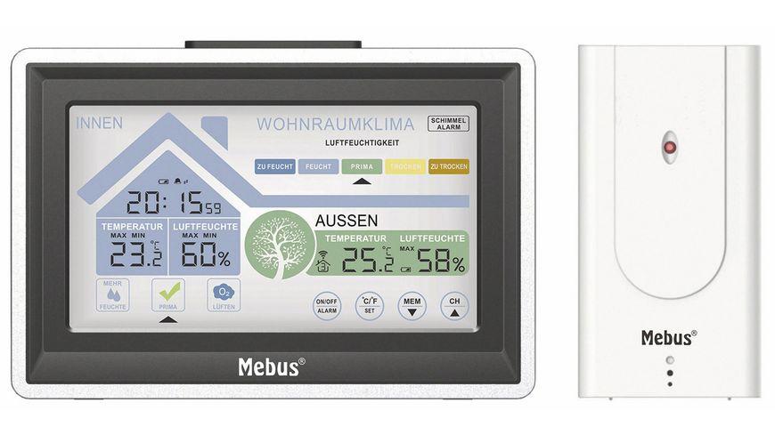 Mebus Wetterstation mit deutschsprachigem Display
