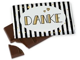 Geschenk fuer Dich Schokolade Danke