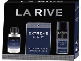 LA RIVE Extreme Story Eau de Toilette Deo Geschenkpackung