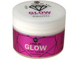 Bettina Barty LOVE IT GLOW Body Cream sparkle