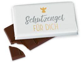 Geschenk fuer Dich Schokolade Schutzengel fuer Dich