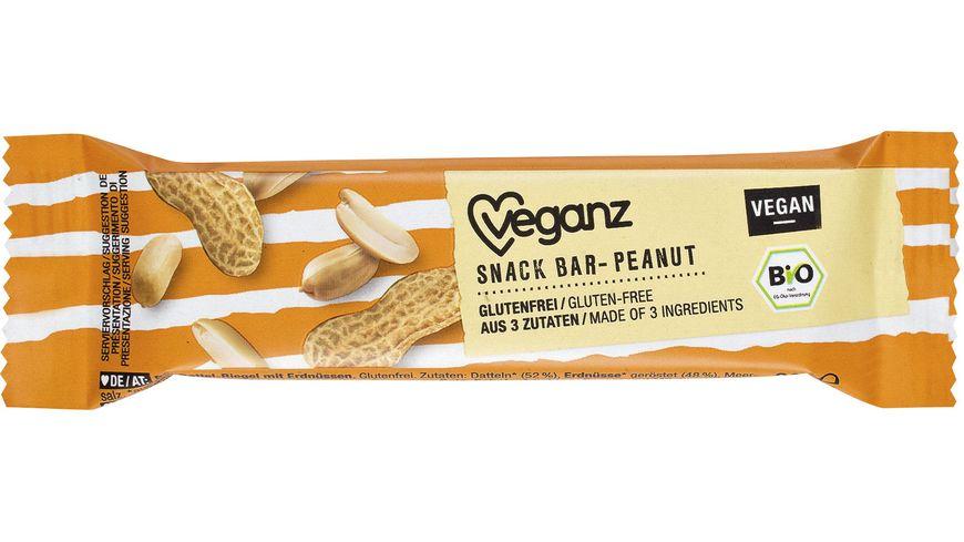 Veganz BIO Snack Bar Peanut