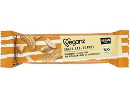 BIO Veganz Snack Bar Peanut