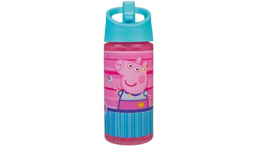 Scooli - Peppa Pig - AERO Trinkflasche, 400 ml