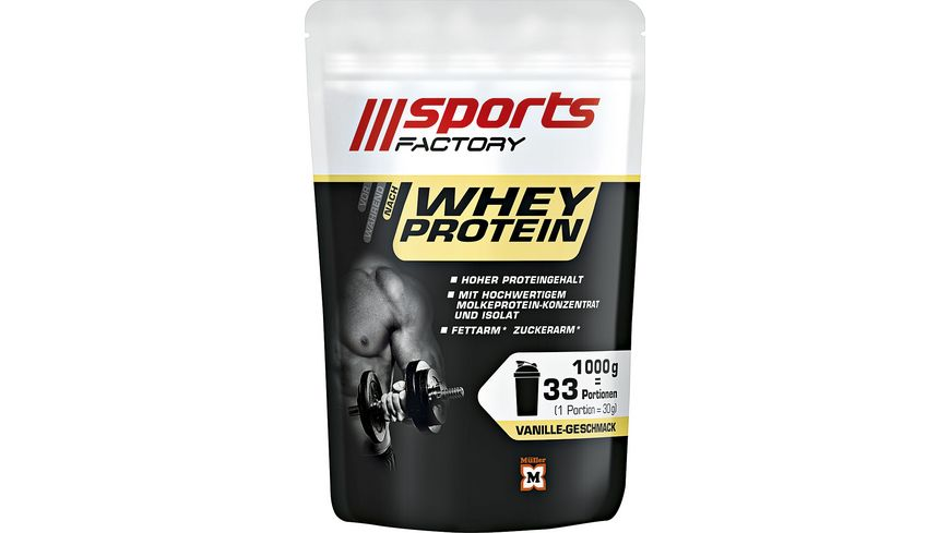 SPORTS FACTORY Whey Protein Vanille