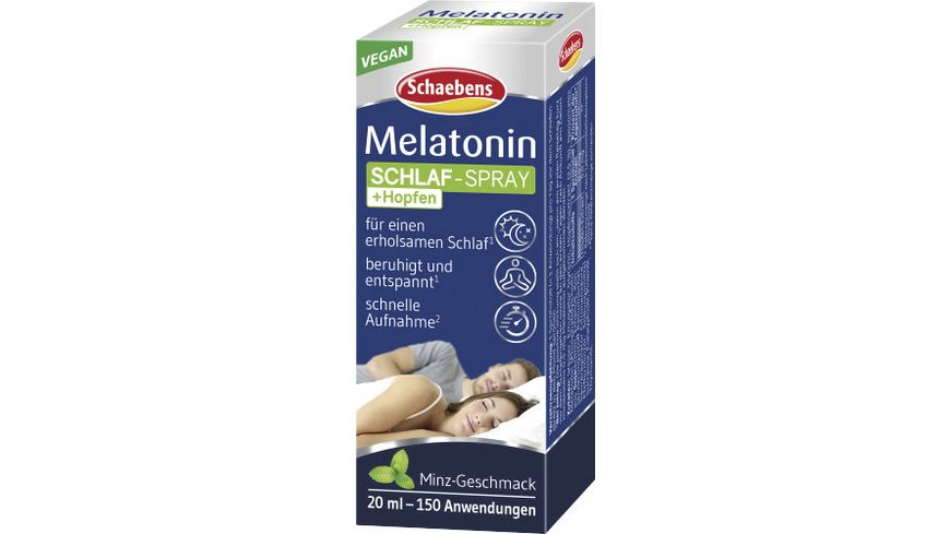 Schaebens Melatonin Schlaf-Spray + Hopfen