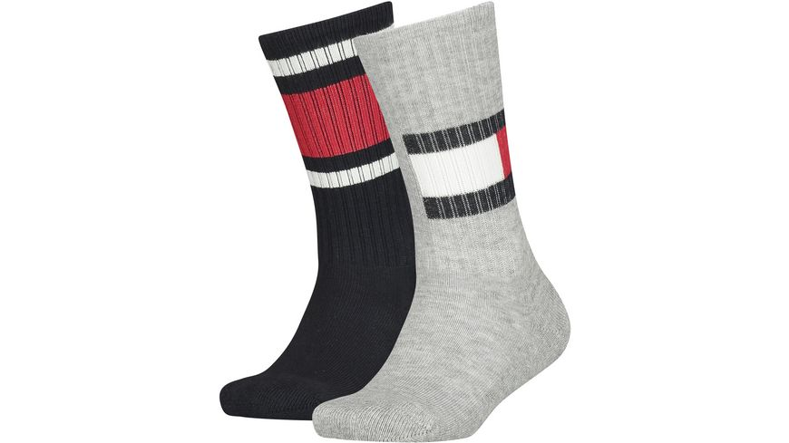 TOMMY HILFIGER Kinder Socken Flag 2er Pack
