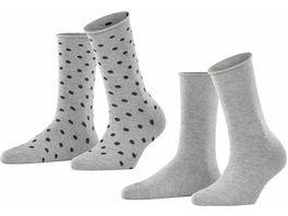 ESPRIT Damen Socken Dot 2er Pack