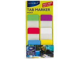 PAPERZONE Tab Marker Index 66 Blatt