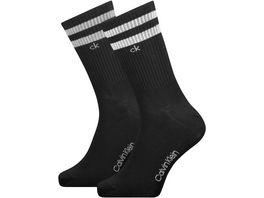 Calvin Klein Herren Socken Crew Stripes Casual Maurice 2er Pack