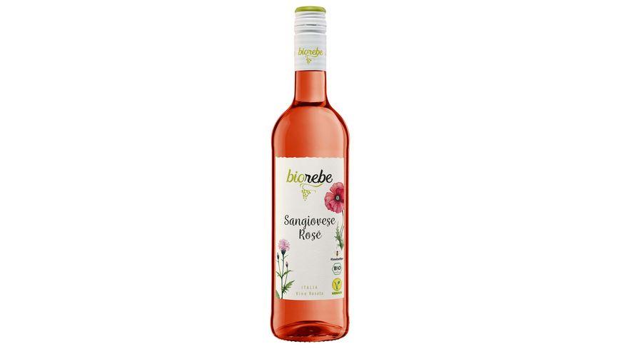 BioRebe Sangiovese Rosé Italien IGP, trocken