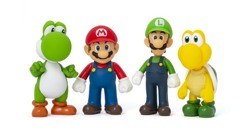 Super Mario Figuren 4er Pack