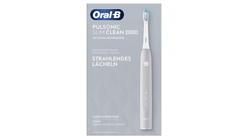 Oral B Pulsonic Slim Clean 2000 Grey