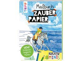 Kreativ Minis Zauberpapier Malbuch