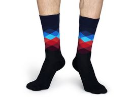 Happy Socks Unisex Socken Faded Diamond
