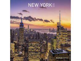 New York 2021 A I 30x31cm