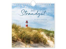 GRAFiK WERKSTATT Postkartenkalender 2022 Strandgut