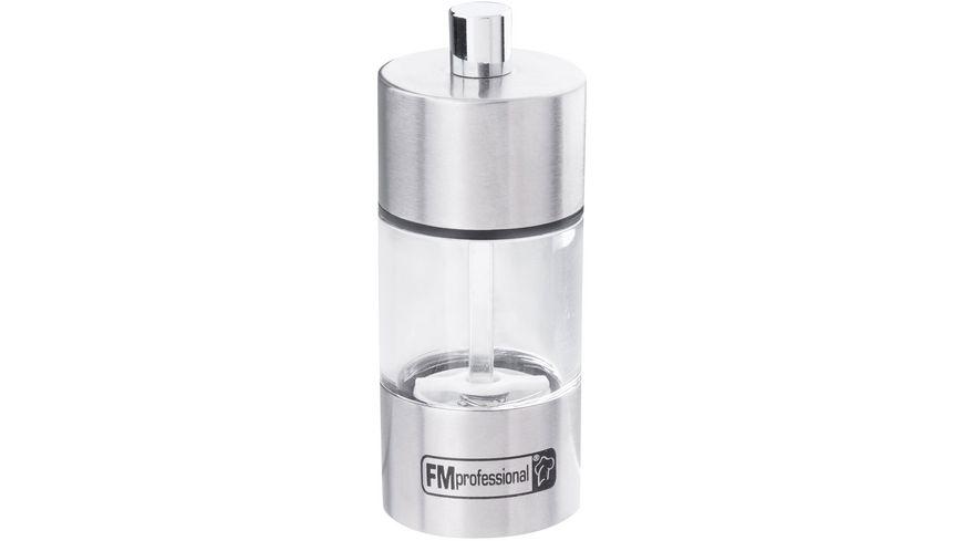 FMProfessional Salz-/Pfeffermühle INOX, 2er-Set