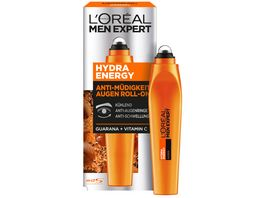 L OREAL PARIS MEN EXPERT Hydra Energy Anti Muedigkeits Augen Roll On