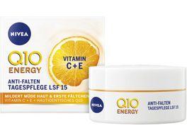 NIVEA Q10 Energy Anti Falten Tagespflege LSF15 50ml