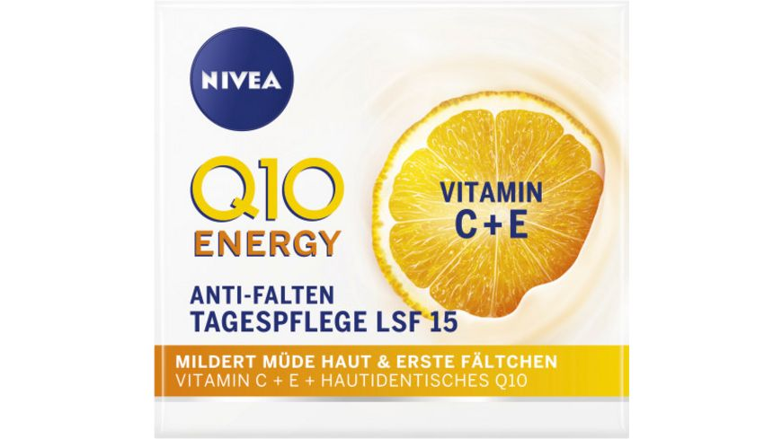 NIVEA Q10 ENERGY Anti Falten Tagespflege LSF 15