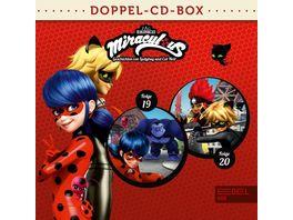 Miraculous Hoerspiel Doppel Box Folgen 19 20
