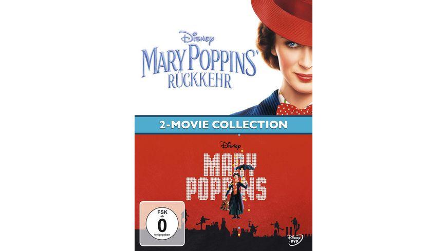 Mary Poppins Mary Poppins Rueckkehr Doppelpack