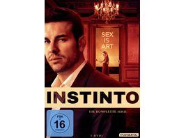 Instinto Die komplette Serie 3 DVDs