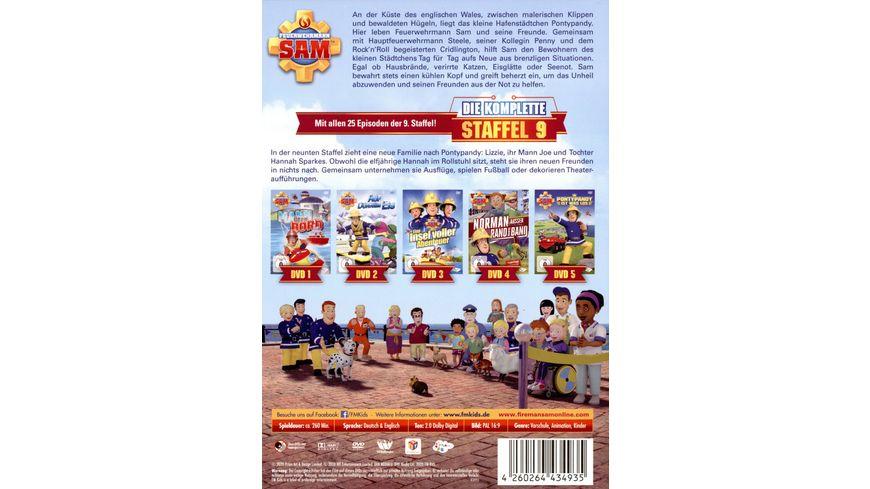 Feuerwehrmann Sam Die Komplette 9 Staffel 5 DVDs