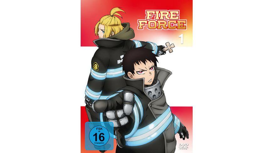 Fire Force Enen no Shouboutai Vol 1 Eps 1 6 2 DVDs
