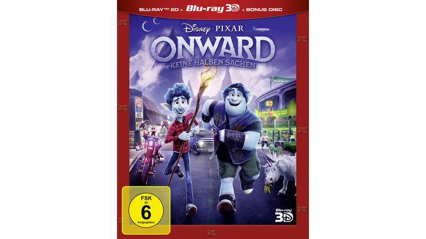 Onward - Keine halben Sachen (+ Blu-ray 2D + Bonus-Disc)