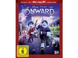 Onward Keine halben Sachen Blu ray 2D Bonus Disc