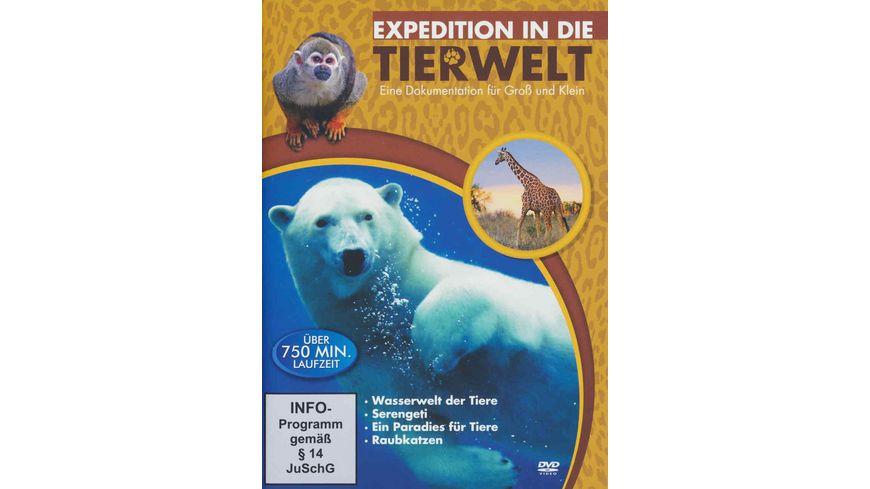 Expedition in die Tierwelt 4 DVDs