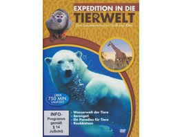Expedition in die Tierwelt 4 DVDs