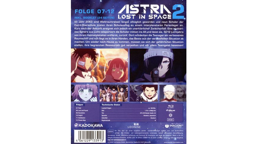Astra Lost in Space Vol 2 Limited Edition