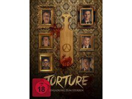 Torture Einladung zum Sterben Mediabook DVD