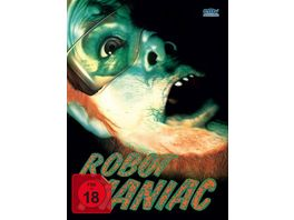 Robot Maniac Mediabook Cover A Limited Edition auf 666 Stueck Uncut DVD