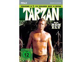 Tarzan Vol 3 Weitere 16 Folgen der Kultserie mit Ron Ely Pidax Serien Klassiker 4 DVDs