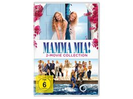 Mamma Mia 2 Movie Collection 2 DVDs