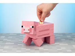 Minecraft Spardose Schwein
