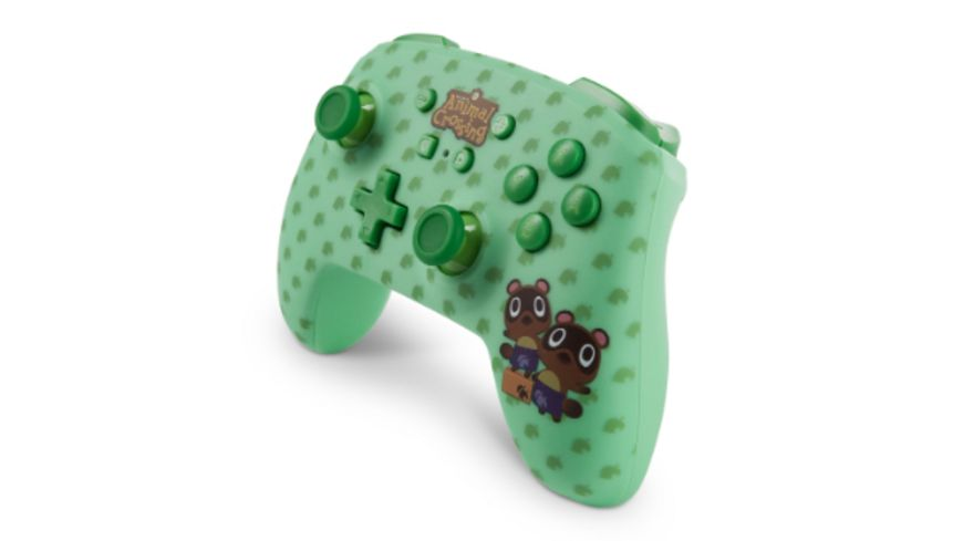 PowerA Nintendo Switch Wireless Controller Animal Crossing Timmy Tommy