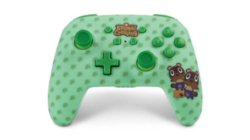 PowerA Nintendo Switch Wireless Controller Animal Crossing Timmy Tommy