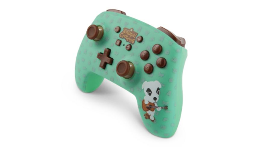 PowerA Nintendo Switch Wireless Controller Animal Crossing K K Slider