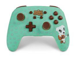 PowerA Nintendo Switch Wireless Controller Animal Crossing K K Slider
