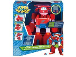 Super Wings Jett s Super Robot Suit